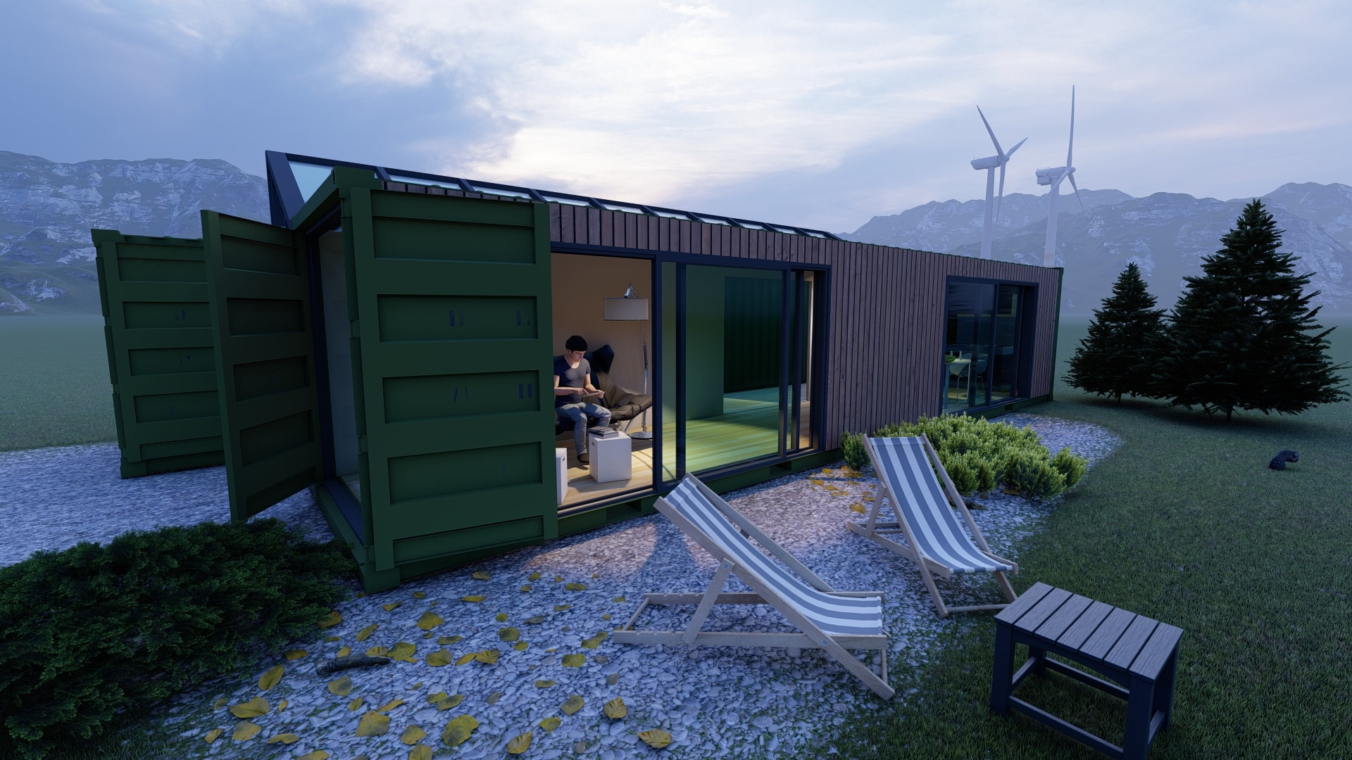 mobiles Container House